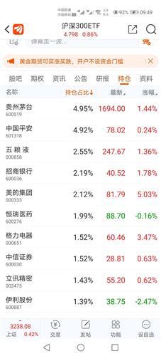 沪深300排名前十的股票(沪深300定投哪家好)  外汇平台开户  第2张